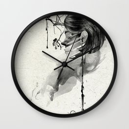 Find me into myself Wall Clock