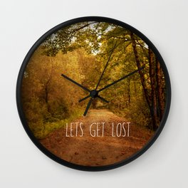 lets get lost Wall Clock