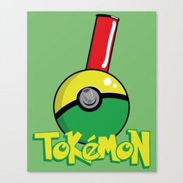 Tokemon GO Canvas Print