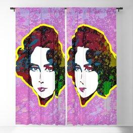 Elizabeth Taylor | Splatter Series | Pop Art Blackout Curtain