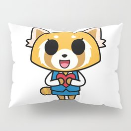 Aggretsuko Loves You! Pillow Sham