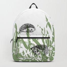 Hedgehogs print Backpack