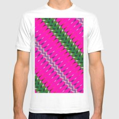 Play of colors White MEDIUM Mens Fitted Tee