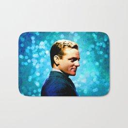 James Cagney, blue screen Bath Mat