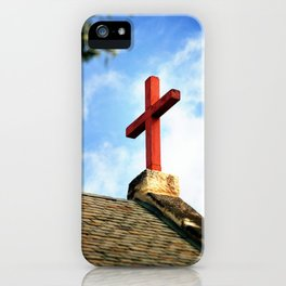 Cross Church Roof iPhone Case