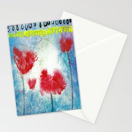 REMEMBER THE POPPIES Stationery Cards