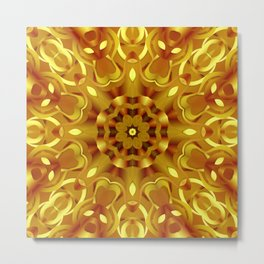 kaleidoscope Flower G68 Metal Print