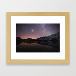 Moke Lake Framed Art Print