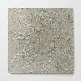 Rough Plastering Metal Print