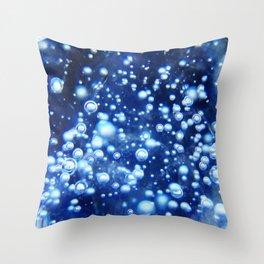 Bubbles 2 Throw Pillow