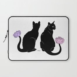Flower Cats Laptop Sleeve