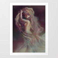 Who Hangs the Stars at Night? Art Print