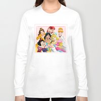 friday Long Sleeve T-shirts featuring Smile for the Camera by Brianna