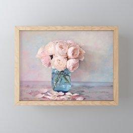 English Roses Framed Mini Art Print