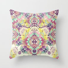 Opal with phantoms  Throw Pillow