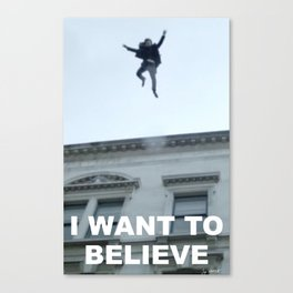 I Want to Believe in Sherlock Holmes Canvas Print