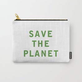 Save The Planet Carry-All Pouch