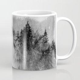 Wolf (B&W) Coffee Mug