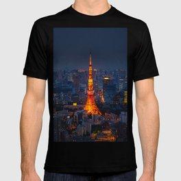 Japan - 'Tokyo Tower Night' T-shirt