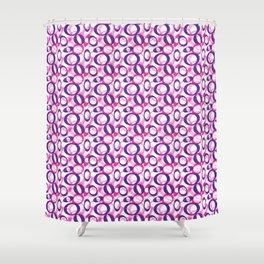 Oblong Pattern Shower Curtain