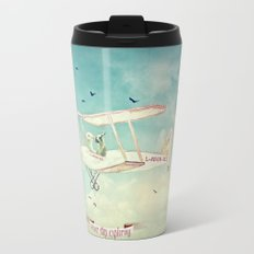 Never Stop Exploring III Travel Mug
