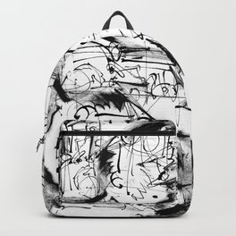 Free Your Spirit - b&w Backpack
