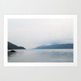 Tranquil Loch Ness Art Print