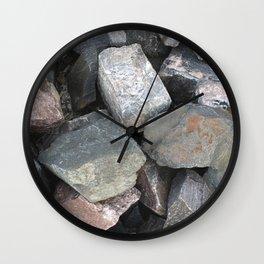 Texture #11 Stone Wall Clock