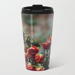 Windowsill Roses no. 1 Metal Travel Mug
