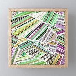 Birdview | green Framed Mini Art Print