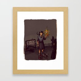 Lacrosse of DOOM Framed Art Print