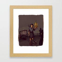 Lacrosse of DOOM Framed Art Print