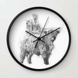 Fantastic 3 Wall Clock
