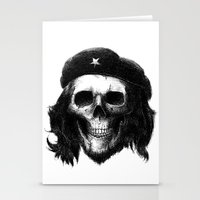 che Stationery Cards featuring Che Guevara by Motohiro NEZU