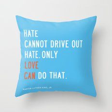 Love Can Quote Throw Pillow