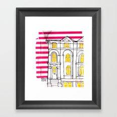 london house Framed Art Print