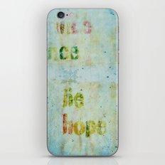 words 2 iPhone & iPod Skin