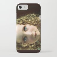 manga iPhone & iPod Cases featuring Manga Mila by micklyn