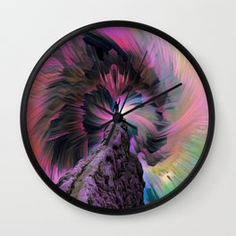 To The Highest Mountain Wall Clock