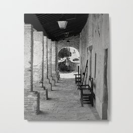 A View In A View Metal Print