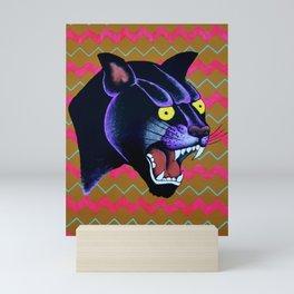 Electric Panther Mini Art Print