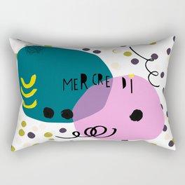 Mercredi Rectangular Pillow