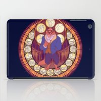 beast iPad Cases featuring Beast by NicoleGrahamART