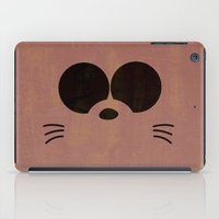 gurren lagann iPad Cases featuring Minimalist Boota by 5eth