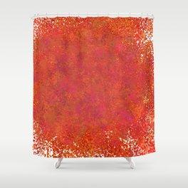 Love splatter Shower Curtain