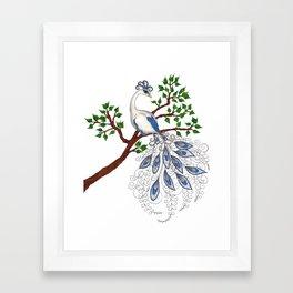 The Moonlark Framed Art Print