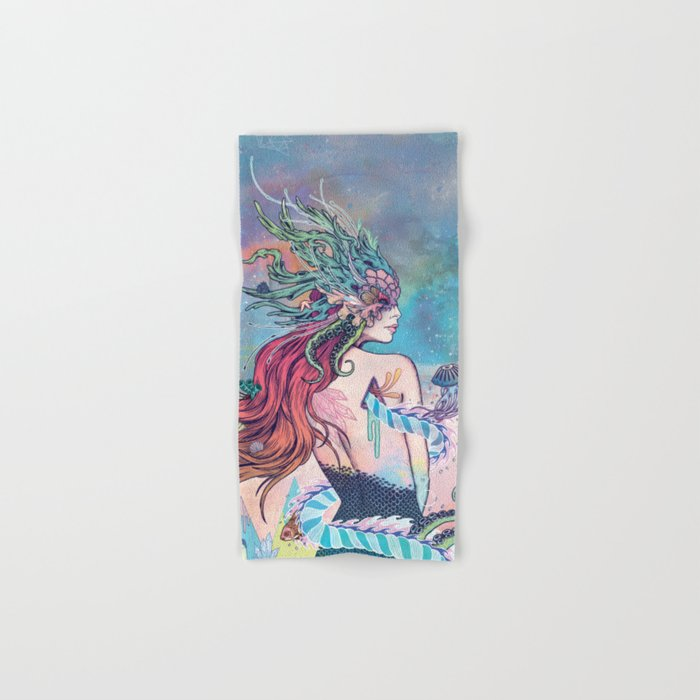 The Last Mermaid Hand & Bath Towel