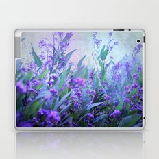 blue garden Laptop & iPad Skin