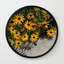 Susans and Cement Wall Clock