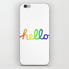 Oh Hello! Coloful Version iPhone Skin